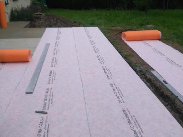 Terrasse en carrelage extérieur Argentan avec extension de surface