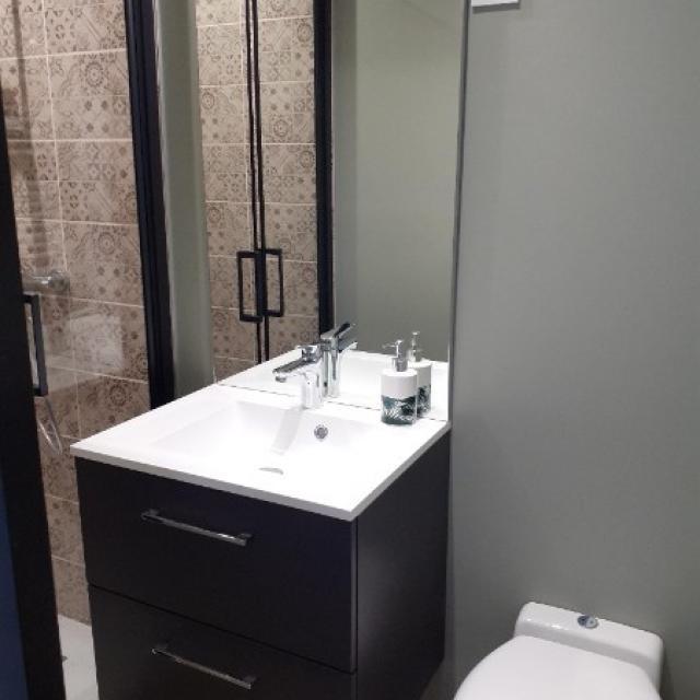 rénovation d'un espace chambre d'ami et salle d'eau indépendante